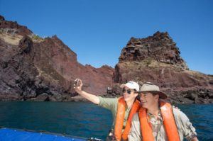 Romantic vacation for couples in the Galapagos islands