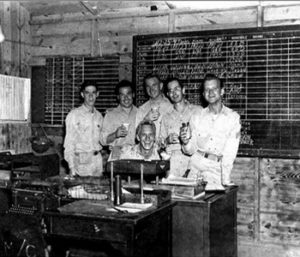 Galapagos islands soldiers in World War II