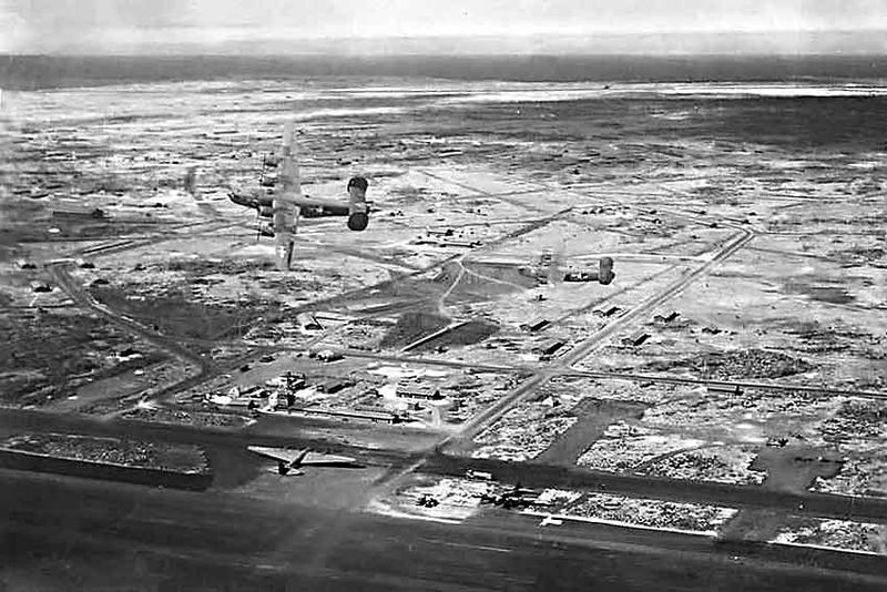 US Army airfield in Baltra