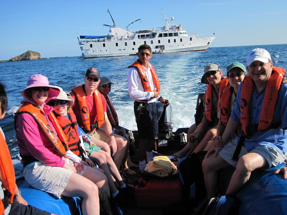 Galapagos Islands visitors