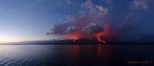 Galapagos islands eruption