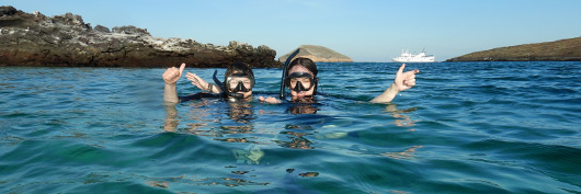 Exclusive visitor sites with Yacht La Pinta at the Galapagos Islands