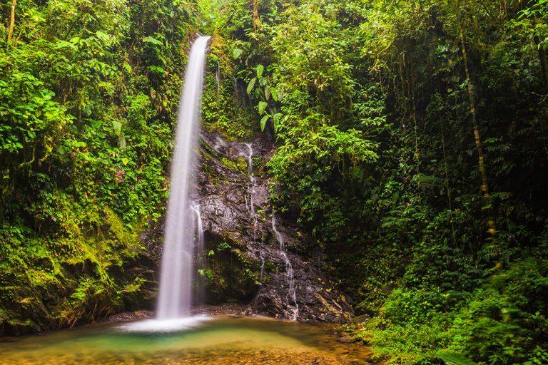 San Vincente waterfall