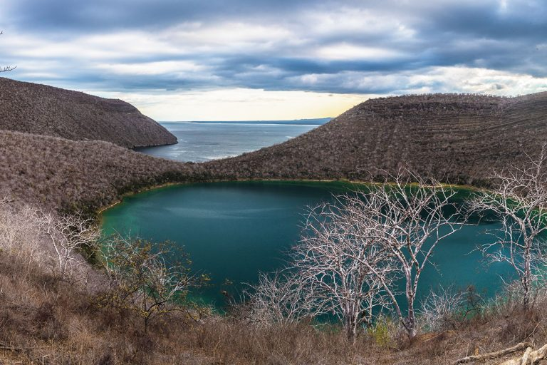 Panoramic view of the Galapagos Islands