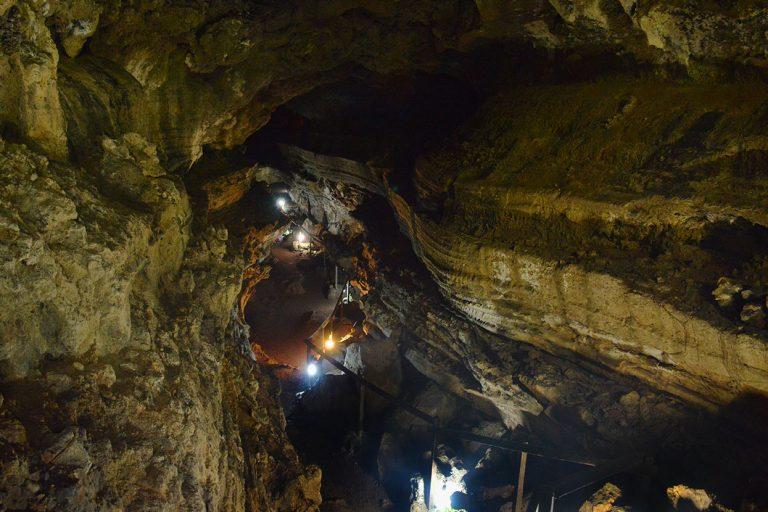 Galapagos' lava tunnels