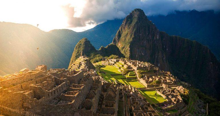 The Machu Picchu ruins provide a glimpse into the way of life in inca Empire.