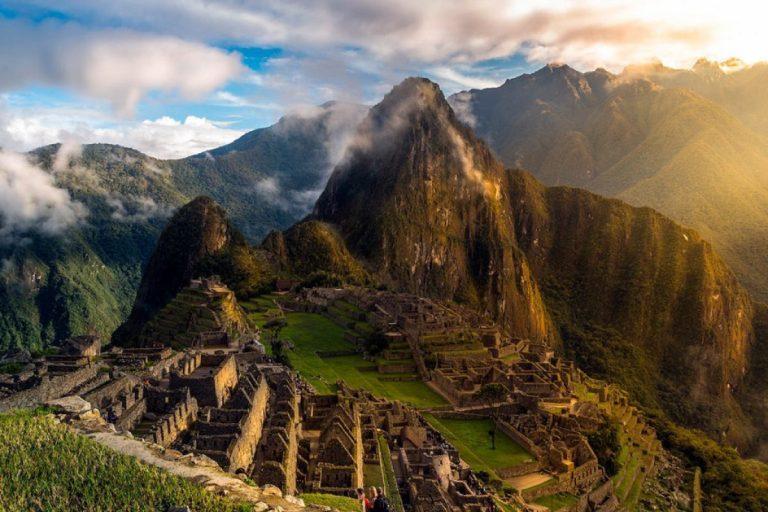 Machu Picchu skyline